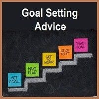 I like this visual for setting goals.