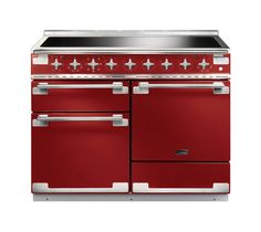 Buy a used Rangemaster Elise Induction Range Cooker. ✅Compare prices by UK Leading retailers that sells ⭐Used Rangemaster Elise Induction Range Cooker for cheap prices. Electric Range Cookers, Dual Fuel Range Cookers, Gas Cookers, Induction Range Cooker, Domestic Appliances, Red Kitchen, Ideas, Gourmet, Home