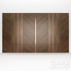 Wooden Wall Design, Wall Panel Design, Wooden Wall Panels, Wall Decor Design, Decorative Wall Panels, Ceiling Design, Decorative Objects, Bedroom Bed Design, Bedroom Furniture Design