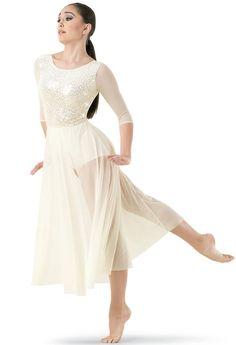 Figurinos de ballet e contemporâneo