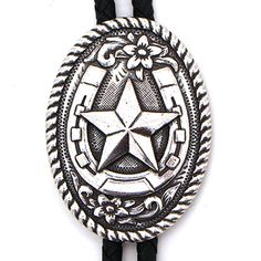 Horseshoe with Star Bolo at Maverick Western Wear