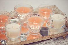 Sittin Pretty   DIY Tea cups candles
