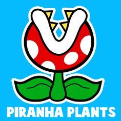 Mario Bros Piranha Plant