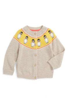 Mini Boden Fun Cardigan (Baby Girls & Toddler Girls)