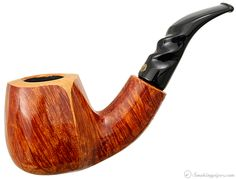 Winslow Crown Smooth Bent Billiard (200) Pipes at Smoking Pipes .com