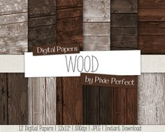 Wood Digital Paper Wood Backgrounds WOOD Digital Wood Paper Backgrounds Instant Download Commercial Use Wood Textures (76) digital paper scrapbooking paper printable instant download damask wood backdrop 12x12 wood grain digital paper wood wood scrapbook paper digital wood paper wood texture wood digital paper rustic wood MyriadDigitalPaper 4.90 USD