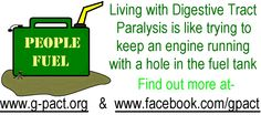 August is DIGESTIVE TRACT PARALYSIS awareness month. If you know someone with Achalasia, Gastroparesis, Chronic Intestinal Pseudo - Obstruction and/or Colonic Inertia, show your support by learning about these often debilitating conditions and encourage continued accommodation for those struggling with them on a daily basis. Chronic Illness, Chronic Pain, Heart Breaks, Rare Disease, Invisible Illness, Childrens Hospital, The Cure, Conditioner, Shell