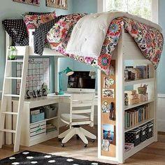 Melhor Ângulo da Vida: Decoração: Como economizar espaço num quarto pequeno