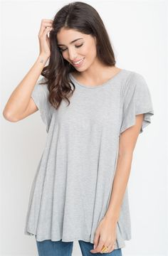 Butterfly Sleeve Tunic