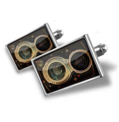 "Cufflinks ""Vintage Camera, Photo"" - Hand Made Cuff Links"