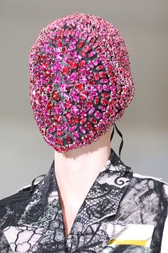 Total Inspiration: maison martin margiela crystal mask