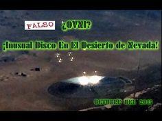 """-OVNI, Inusual Disco En El Desierto de Nevada Octubre 2015 """""""