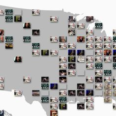Youtube maps out videos trending across the country. You can filter the results by the gender and age of viewers, as well as by choosing to see videos trending by the number of shares verses the number of views.