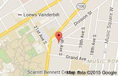 Map of Giovanni Ristorante  Nashville.  Truffle gnocchi