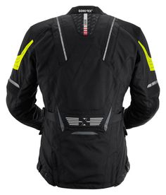 Jacket made of 500D CORDURA®, 500D AIRGUARD® and 630D DYNAX® • GORE-TEX® 3 layer Z liner membrane • Antiseptic polyester mesh lining with water barrier • Remova