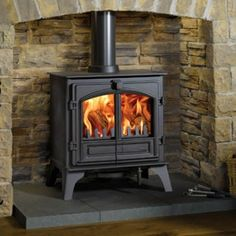 Fireplace Products Presents - The Riva Plus Large Multifuel Stove. The Riva Plus Stove collection consists of 4 freestanding models available as either dedicated wood burners or multifuel stoves. Most models are DEFRA approved for use in a smoke control zone. Available for sale from Fireplace Products, don't forget to mention you found us on Pintrest to receive an extra discount!