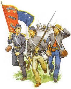 """Ordnance Sgt., 3rd N. Carolina State Troops - Pte., 7 th Florida Vol. Inf. Regt. - Sgt. Maj., 4 th Georgia Inf. Regt. (1863)"""