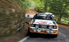 Even though 27 years have passed, this iconic 1984 Audi Quattro A2 Group B rally car still looks very much at home on the tight mountain roads near Sanremo, Italy. Michèle Mouton, in an earlier Group 4 version, captured her historic first WRC win on these same roads. The turbocharged inline-5 sounds as vigorous as ever.