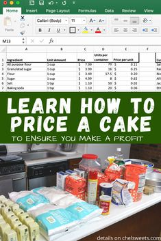 Unsure how to price a cake, cupcakes & cookies? I share a simple equation that helps you set your price & ensure you make a profit! Bakery Business Plan, Baking Business, Cake Business Names, Business Planner, Cake Decorating Techniques, Cake Decorating Tips, Cupcake Cookies, Cupcakes, Cupcake Prices