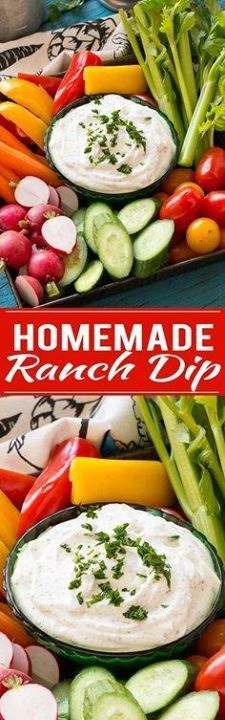 Make your own ranch Make your own ranch dip and skip all the MSG...  Make your own ranch Make your own ranch dip and skip all the MSG and preservatives in the store bought kind. Recipe : http://ift.tt/1hGiZgA And @ItsNutella  http://ift.tt/2v8iUYW
