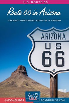 Plan your road trip along Route 66 in Arizona with this guide from Road Trip USA. Get recommendations for the top sights and historic towns along the Mother Road, plus a travel map of Arizona. Arizona Road Trip, Arizona Travel, Oregon Travel, Road Trip Usa, California Travel, Usa Travel, Travel Tips, Trip Planner, Travel Planner