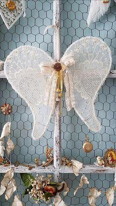 Wings Angel Wings Vintage Wire Wings Shabby Chic Wings