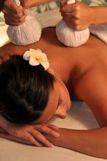 Thai Herbal Ball Massage - Interested in this soothing, aromatic massage? Call Samara Wellness at 781-774-0247. We'll bring the spa to you!