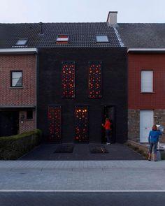 House S in Mechelen by dmvA