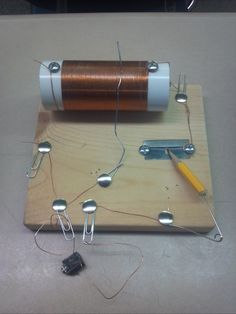 Supplies need to make a fox hole radio:   PVC pipe  Copper wire  Screws  Screw driver  Paper clips  Headphone jack  Razor blade  Pencil h...