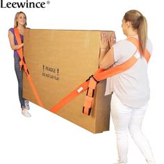 Leewince Move with tool Furniture Accessories Refrigerator belt Nylon rope Load line Shoulder strap Move artifact Home of rope - £12.73