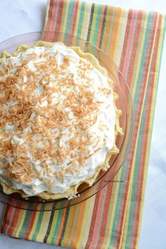 AMAZING coconut cream pie!  I have been searching for a recipe this tasty!