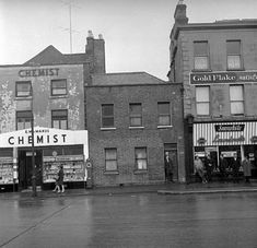 Great Photos, Old Photos, Dublin City, Store Fronts, Dolphins, Mists, Cork, Architecture, Street