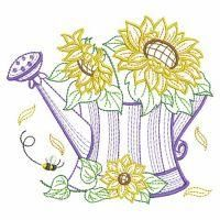 Vintage Flowering Watering Can Paper Embroidery, Custom Embroidery, Embroidery Applique, Machine Embroidery Designs, Embroidery Patterns, Crochet Patterns, Applique Tutorial, Winter Blankets, Personalized Ornaments