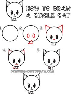 122 Best Cat Cartoon Drawing Images Cute Kittens Fluffy Animals