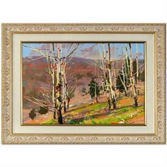 """""""Wonderful Wilderness"""" by Vlad Yakerson, Acrylic on Canvas, listed at $2,200  http://www.propertyroom.com/l/l/9516556"""