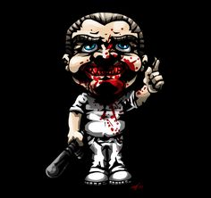 SD Hannibal Lecter by DeTinteyLengua on deviantART