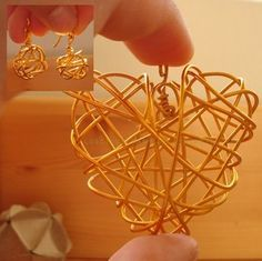 3D Shapes (Heart) Wire Wrapping Tutorial