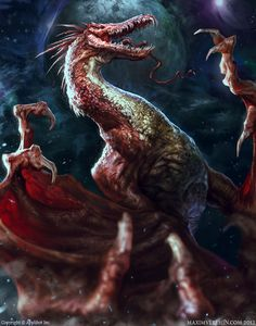 Vampire Dragon by Verehin.deviantart.com on @deviantART
