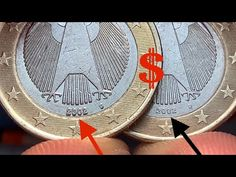 Euro Währung, Valuable Pennies, Euro Coins, Old Coins, Projects To Try, Germany, Make It Yourself, Personalized Items, Youtube