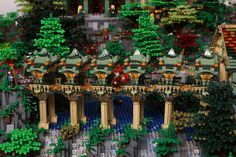 EGO Rivendell Made With 200,000 Bricks! Master LEGO builders Alice Finch & David Frank have teamed up to make the Elven outpost in Middle-earth, Rivendell, using an astonishing 200,000 LEGO bricks! The detail and little scenes are truly amazing, this takes LEGO to a whole new level...