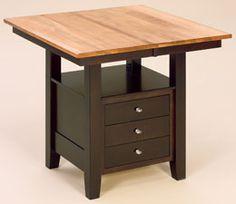 Camden Pub Table: Oak