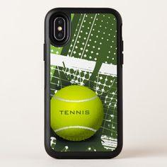 Tennis Ball Design OtterBox Symmetry iPhone X Case
