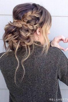 Glambytoriebliss long wedding hairstyles 31 | Deer Pearl Flowers