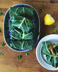 Spicy Lentil Collard Wraps