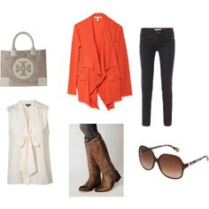 Fall or Spring Look, totally love the sweater