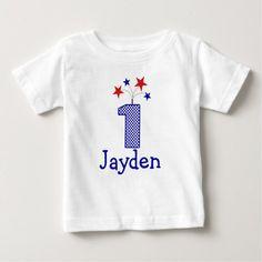 Customizable Firecracker First birthday shirt 1 yr