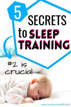 Here are 5 proven tips to get your baby sleep trained fast! Kids Sleep, Good Sleep, Baby Sleep, Parenting Articles, Parenting Hacks, Sleep Training Methods, Training Tips, All About Pregnancy, Postpartum Care