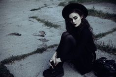 Get this look: http://lb.nu/look/8210127  More looks by Violet Ell: http://lb.nu/user/79093-Violet-E  Items in this look:  Underground Creepers   #gothic #grunge #vintage