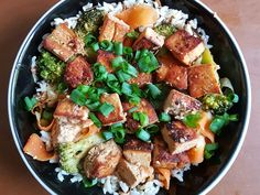 Stir-Fried Ginger Tofu with Rice