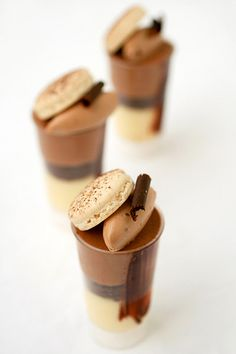 Chocolate and meyer lemon mousse